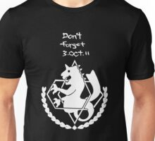 FullMetal Alchemist - Don't forget, Amestris Unisex T-Shirt