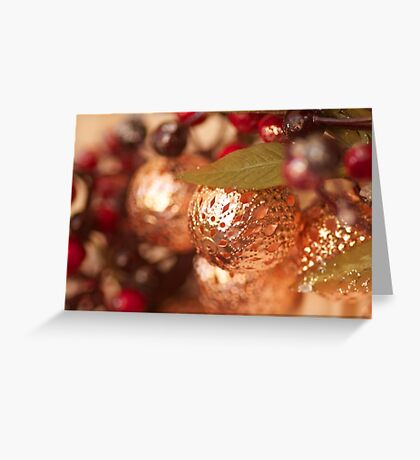 Front door Christmas bling! Greeting Card