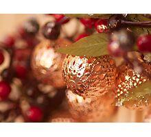 Front door Christmas bling! Photographic Print