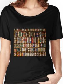BEERS ON SHELVES Women's Relaxed Fit T-Shirt