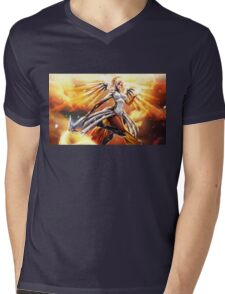 OVERWATCH MECRY Mens V-Neck T-Shirt