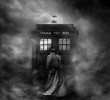 Doctor & Tardis in the Mist - Mistery Time Lord by Mellark90