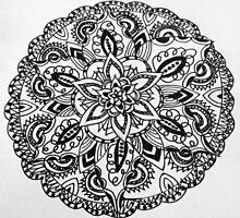 Floral henna aztec design by EKArt