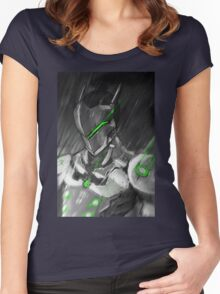 OVERWATCH GENJI Women's Fitted Scoop T-Shirt