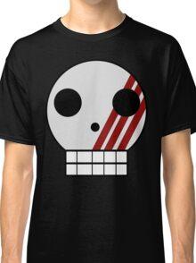 Striped Skull Classic T-Shirt