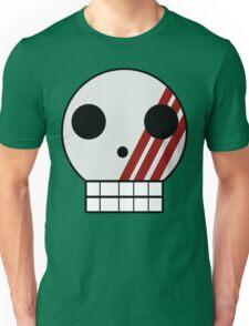 Striped Skull Unisex T-Shirt