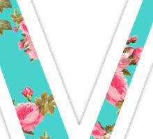 Mu Rose Letter Sticker