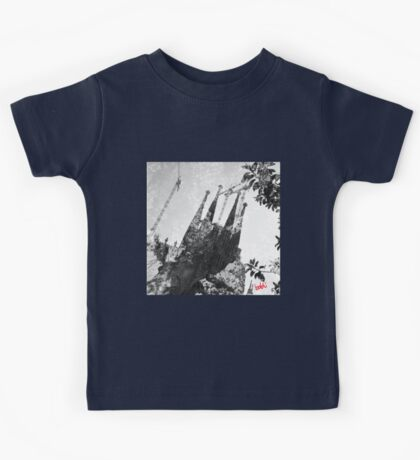 Sagrada Familia Tree Kids Tee