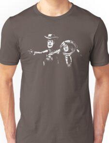 Toy Fiction Pulp Story Funny Tee Black Woody Buzz Retro Movie Unisex T-Shirt