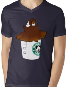 Pumpka-Spice Latte Mens V-Neck T-Shirt