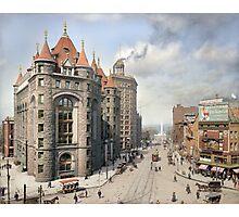 Niagara Street, Buffalo, 1908 Photographic Print
