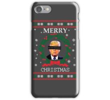 Merry Christmas - Not My President iPhone Case/Skin