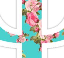 Psi Rose Letter Sticker
