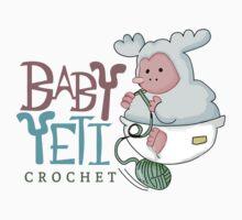 Baby Yeti Crochet by Cami-McCall