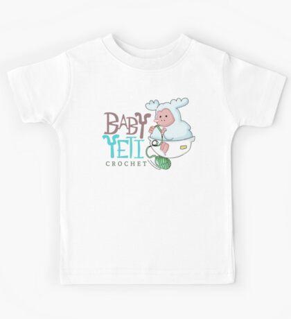 Baby Yeti Crochet Kids Tee