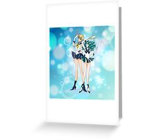 Sailor Uranus and Neptune  Greeting Card