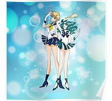 Sailor Uranus and Neptune  Poster