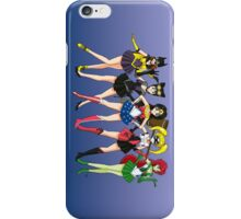 Sailor Scouts DC iPhone Case/Skin