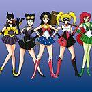 Sailor Scouts DC by Jeremy Kohrs