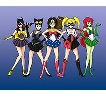Sailor Scouts DC Photographic Print