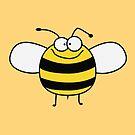 Funny Sweet Baby Bee / Bumble Bee by badbugs