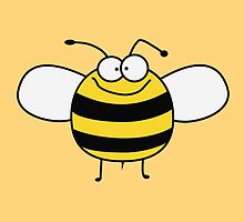 Funny Sweet Baby Bee / Bumble Bee by badbugs