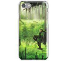 zelda link  iPhone Case/Skin