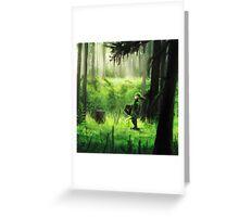 zelda link  Greeting Card