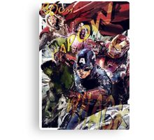 The Avengers Strike Back! Canvas Print