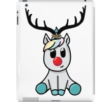Reindeer (totally not a unicorn!) iPad Case/Skin