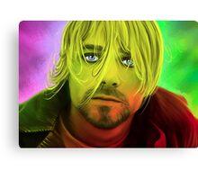 Kurt Cobain Club 27 Painting Canvas Print