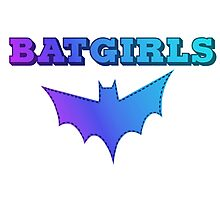 BATGIRLS -  Blue Photographic Print