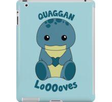 Guild Wars 2 - Quaggan LoOOoves you! iPad Case/Skin