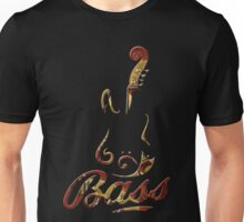 Vintage Bass Guitar Nature Unisex T-Shirt