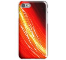 Cosmic Filament - Original Abstract Art iPhone Case/Skin