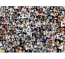 Elvis presley collage Photographic Print