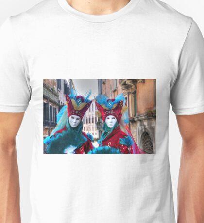 Venice - Carnival Mask 2012....03 - Twins Unisex T-Shirt
