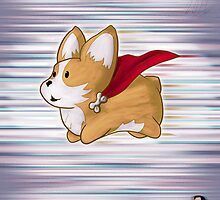 Super Corgi by OliverDemers
