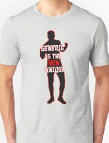 Sami Zyan/El Generico: Generic is the New Unique T-Shirt