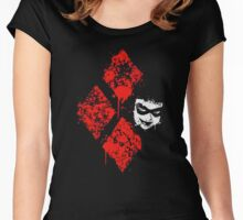 Harley Quin Women's Fitted Scoop T-Shirt
