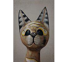 Cat Statue Photographic Print