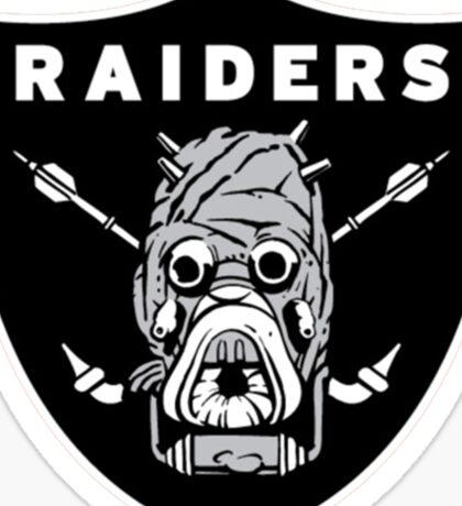 raiders ark Sticker
