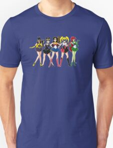 Sailor Scouts DC Unisex T-Shirt