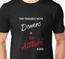 The Trouble with Demons Unisex T-Shirt