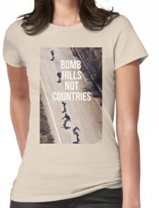 east bomb hills Womens Fitted T-Shirt