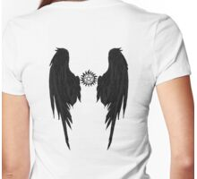 The Hunters Angel  Womens Fitted T-Shirt