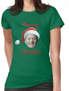Murray Christmas! Womens Fitted T-Shirt