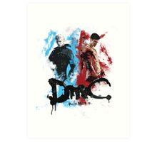 DmC 'Devil May Cry' - Worlds Collide Art Print