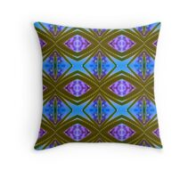 Leafy Spikes (VN.423) Throw Pillow