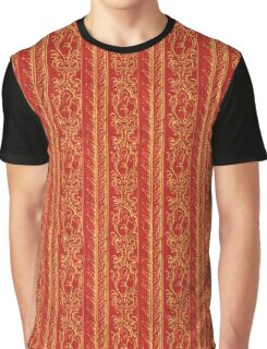 Regal Decor Design Red Graphic T-Shirt